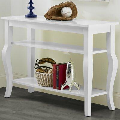 Danby Console Table Color: Satin White
