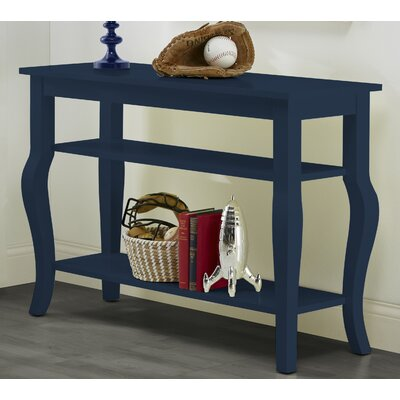 Danby Console Table Color: Navy Blue