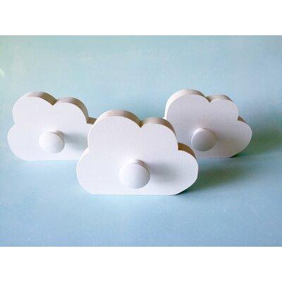 Cloud Wall Hook Finish: White