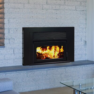Volcano Plus Wood Burning Fireplace Insert Finish: Charcoal