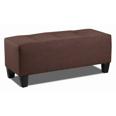 Ethan Bench Color: Chocolate