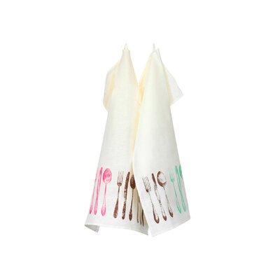 Blanc Cerise Délices De Métis Tea Towel