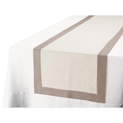 Blanc Cerise Délices De Lin Table Runner