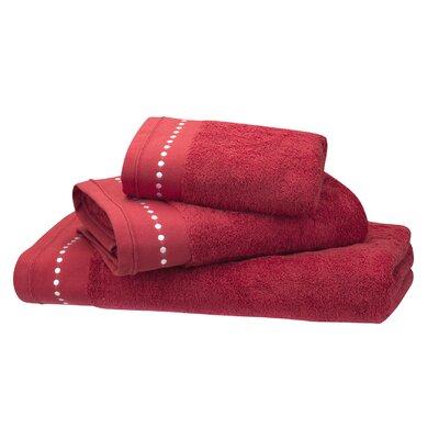 Blanc Cerise Délices Alignés Beach Towel