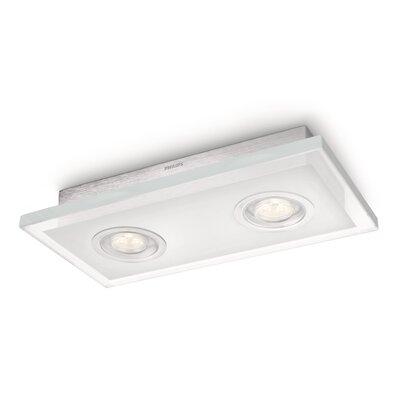 PhilipsLighting Deckenleuchte 2-flammig Quart