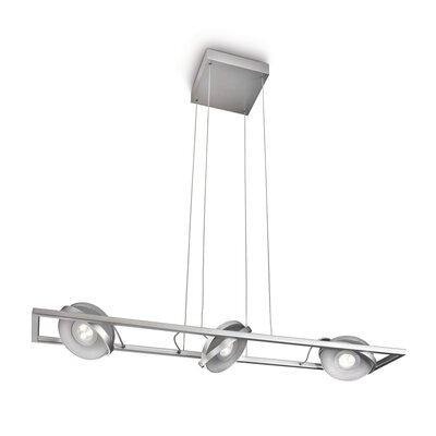 PhilipsLighting Höhenverstellbare LED-Pendelleuchte 3-flammig Particon
