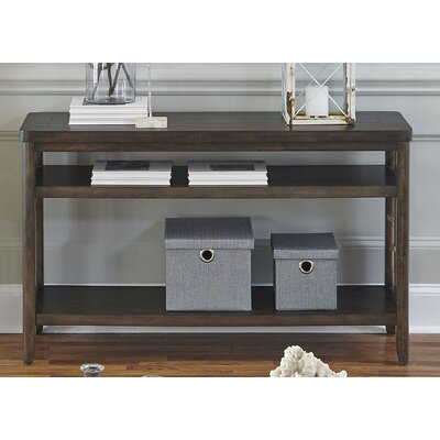 Sorrento Console Table Color: Brown