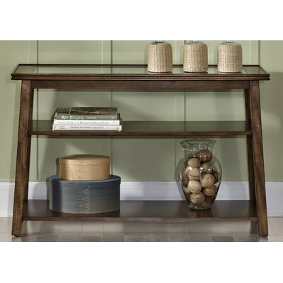 Meagan Console Table Color: Tobacco