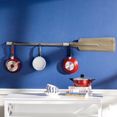 Madbury Flagship Oar Wall Mounted Coat Rack