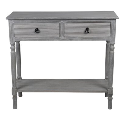 Haverhill Console Table Color: Slate Gray