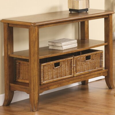 Kentmere Console Table Color: Medium Brown