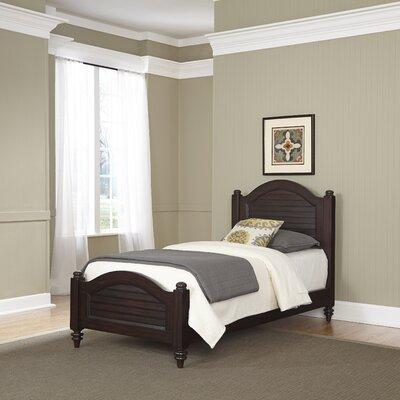 Harrison Twin Panel Bed Color: Espresso