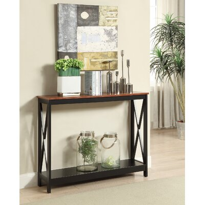 Stoneford Console Table Color: Cherry