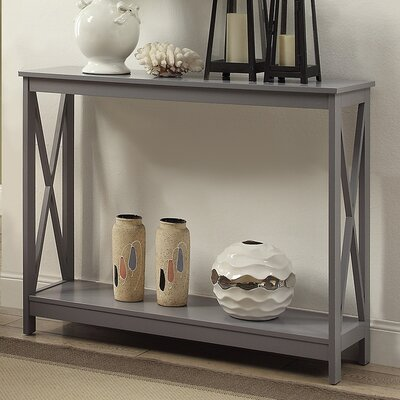 Stoneford Console Table Color: Gray
