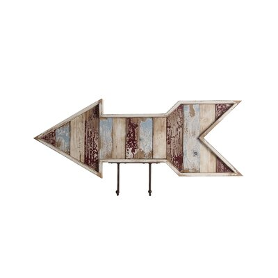 Chrisman Hooks Wooden Wall Arrow