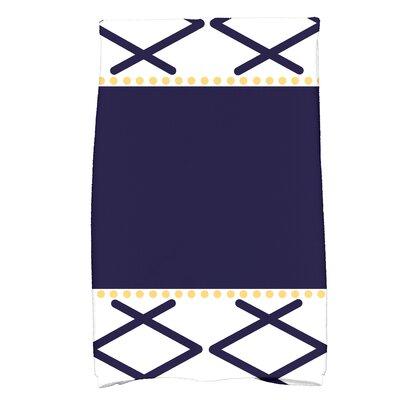 Bartow Knot Fancy Bath Towel Color: Navy Blue