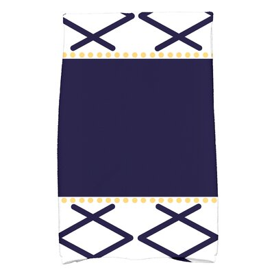 Bartow Knot Fancy Hand Towel Color: Navy Blue