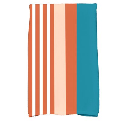 Bartow Beach Shack Hand Towel Color: Teal