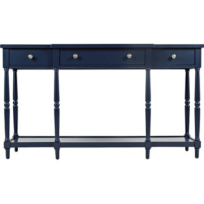 Ringwood Console Table Color: Navy
