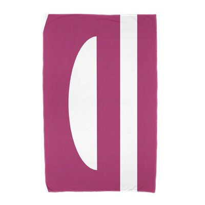 Lock Beach Towel Color: Pink