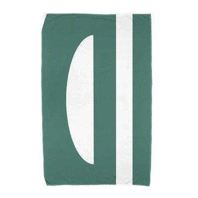 Lock Beach Towel Color: Green