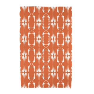 Summer Picnic Beach Towel Color: Orange
