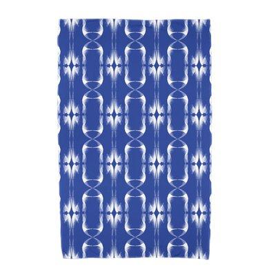 Summer Picnic Beach Towel Color: Blue