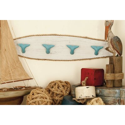 Seabeck Whale Wall Hook