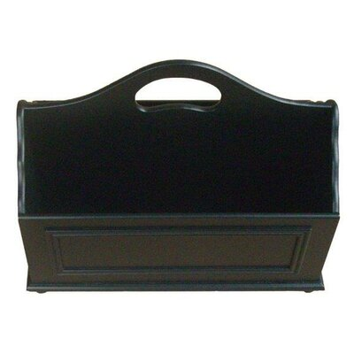 Adaline Mobile Home Park Magazine Rack Color: Black