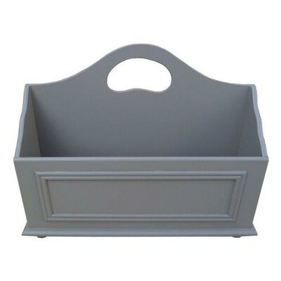Adaline Mobile Home Park Magazine Rack Color: Gray