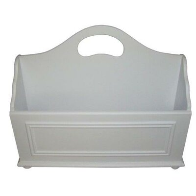 Adaline Mobile Home Park Magazine Rack Color: White
