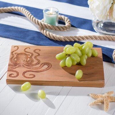 Northland Octopus Artisan Cherry Wood Cutting Board