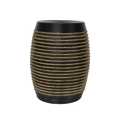 Lilyana Wood Rope Accent Table