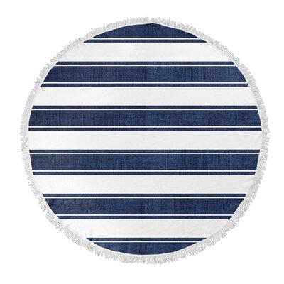 Ayleen Stripe Round Beach Towel