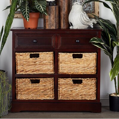 Beverly 2 Drawer Chest Color: Brown