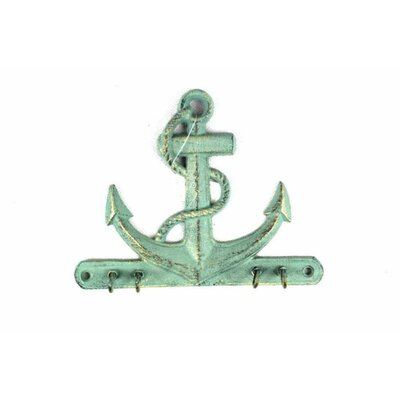 Anchor with Hook Color: Antique Bronze