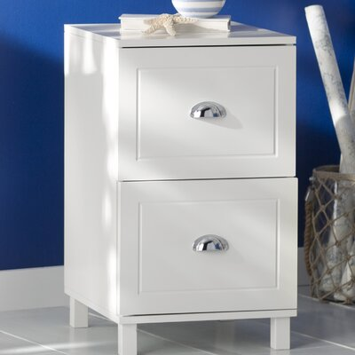 Orange City 2 Drawer Filing Cabinet Color: Antique White