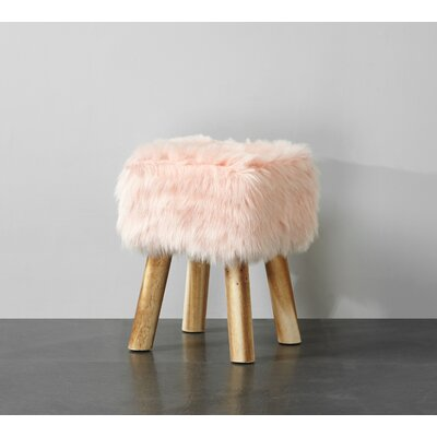 Aldea Vanity Stool Color: Blush