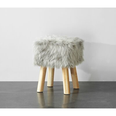 Aldea Vanity Stool Color: Gray