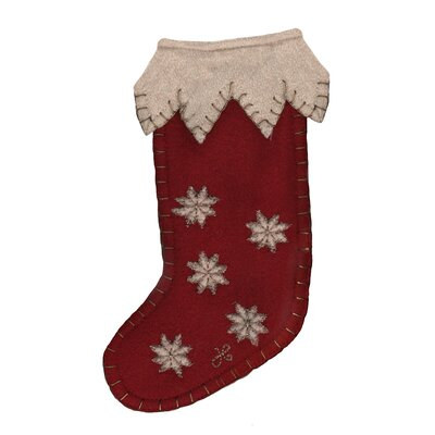 Jan Constantine Mini Snowflake Stocking