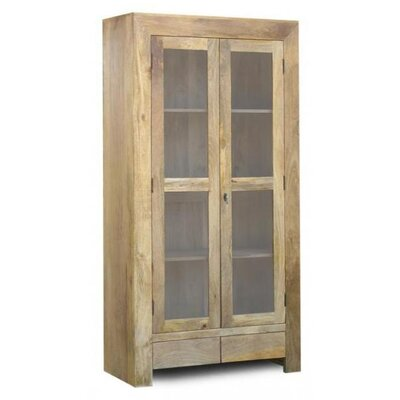 UnoDesign Verona Solid Mango Display Cabinet