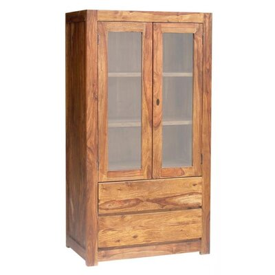 UnoDesign Milano Solid Rosewood Display Cabinet