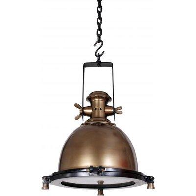 UnoDesign 1 Light Bowl Pendant Light