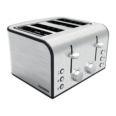 Telefunken Toaster 4 Scheiben 1600 Watt