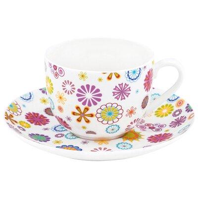 Krauff Tasse Blumen