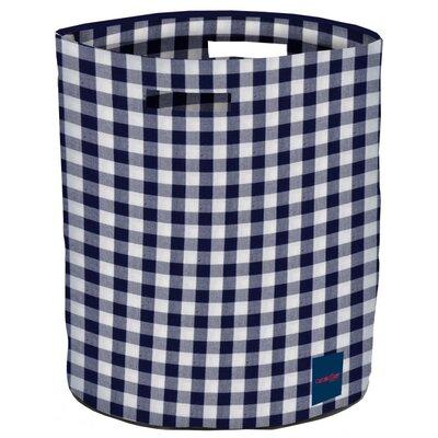 The Camouflage Co Gingham Round Storage Basket
