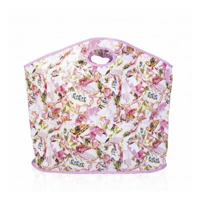 The Camouflage Co Pink Mosaic Oval Laundry Hamper