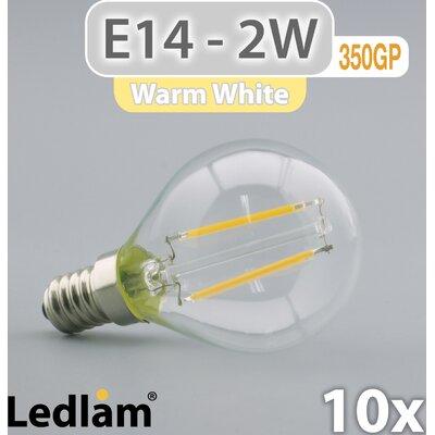 LEDlam 10-tlg. LED-Set E14 2W