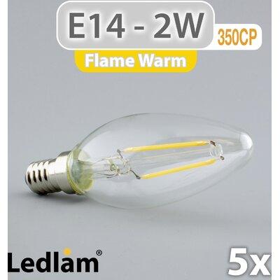 LEDlam 5-tlg. LED-Set E14