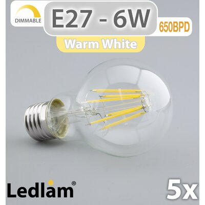 LEDlam 5-tlg. LED-Set E27